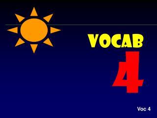 Vocab 4