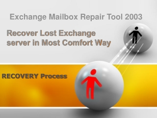 Exchange Mailbox Repair Tool 2003