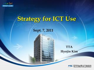 Strategy for ICT Use