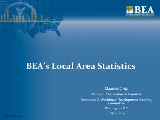 BEA's Local Area Statistics