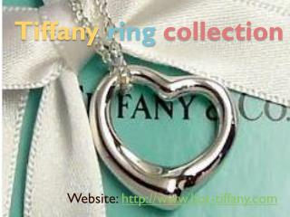 Tiffany ring collection