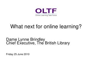 What next for online learning?