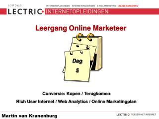 L eergang  Online Marketeer