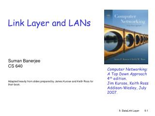 Link Layer and LANs