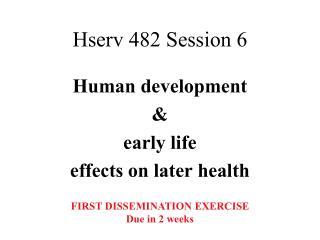 Hserv 482 Session 6