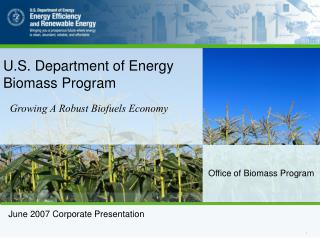 Office of Biomass Program