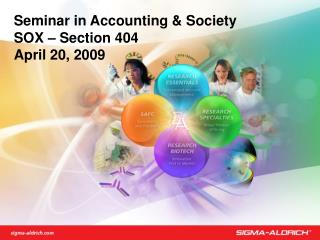 Seminar in Accounting & Society SOX – Section 404 April 20, 2009