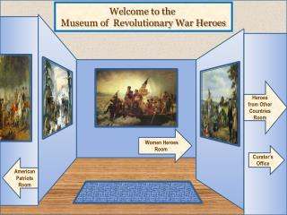 Welcome  to the  Museum of  Revolutionary War  Heroes
