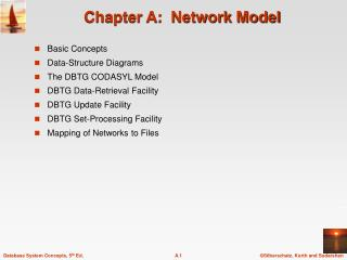 Chapter A:  Network Model