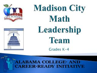 Madison City Math Leadership Team