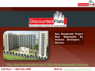 Altorios New residential Project By Akshara Developers