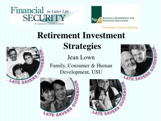 Retirement Investment  Strategies