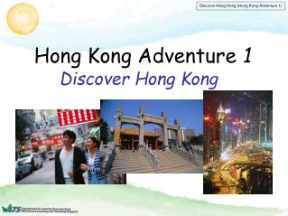 Hong Kong Adventure 1