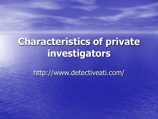 Private Investigator High Point NC
