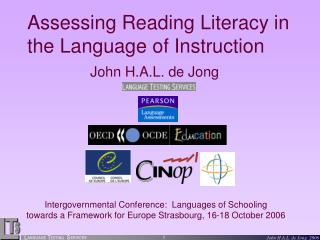 Assessing Reading Literacy in the Language of Instruction