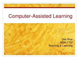 Computer-Assisted Learning