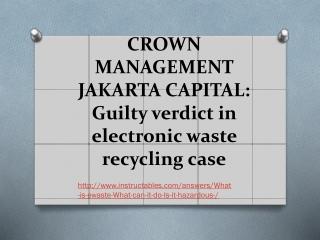 crown management jakarta capital
