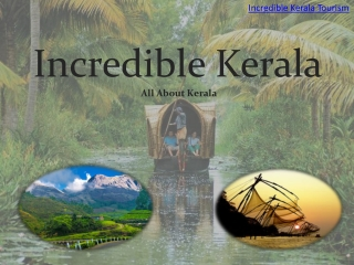 Visit Incredible Kerala Tourism Destinations
