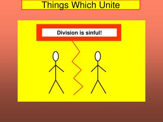 Things Which Unite