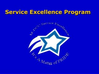 Service Excellence Program