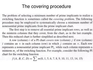 The covering procedure