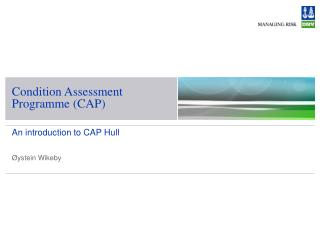 Condition Assessment Programme (CAP)