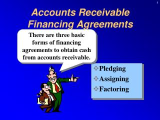 Accounts Receivable  Financing Agreements