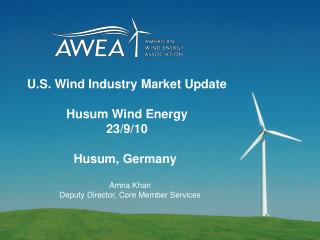 U.S. Wind Industry Market Update  Husum Wind Energy 23
