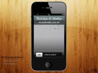 ReUse it! Malta Prototype