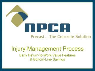 Injury Management Process