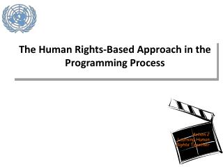 The Human Rights-Based Approach in the Programming Process