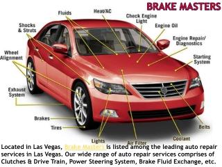 Auto Repair Services Shop in Las Vegas