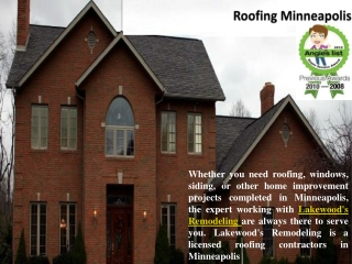 Lakewoods Remodeling - Siding, Roofing Minneapolis