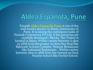 Aldea Espanola Pune