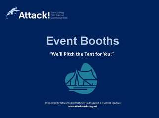 Marketing Event Services Case Studies: Event Booth