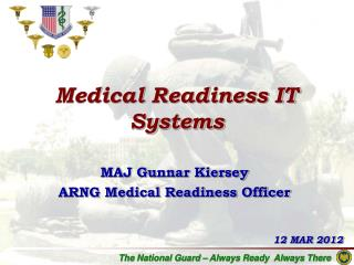 Medical Readiness IT Systems
