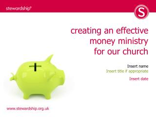 creating an effective money ministry for our church