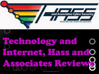 Technology and Internet, Hass and Associates Reviews: Sikker