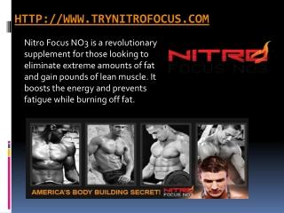 Nitro Focus NO3