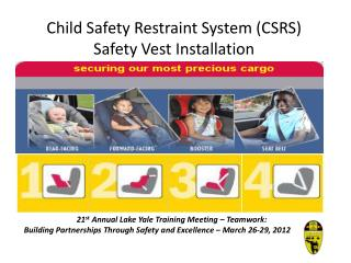 Child Safety Restraint System (CSRS) Safety Vest Installation