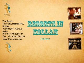 Resort in Kollam