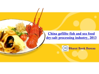 China gefillte fish and sea food dry-salt processing indust