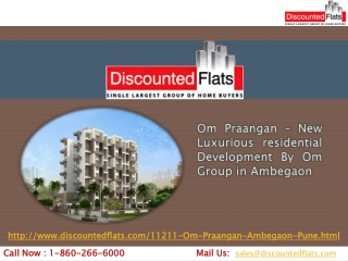New Flats For sell In Ambegaon - Om Praangan