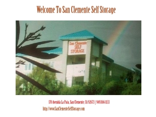 San Clemente Self Storage