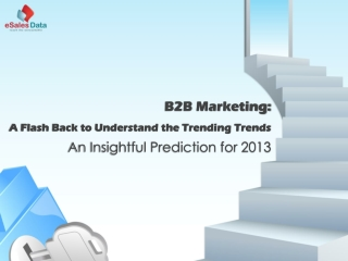 B2B Marketing Trends in 2013