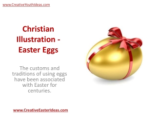 Christian Illustration - Easter Eggs
