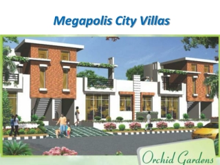 Megapolis City Villas Greater Noida