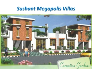 Sushant Megapolis City Villas Greater Noida