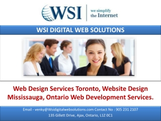 Web Design Services Toronto, Website Design Mississauga.