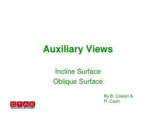 Auxiliary Views